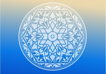 Islam Circle - vector #149691 gratis