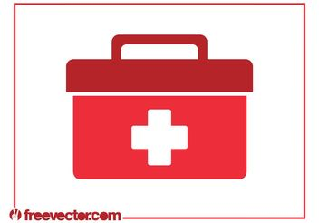 Medical Bag Vector - Free vector #150091