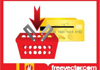 Shopping Basket Clip Art - Kostenloses vector #150381