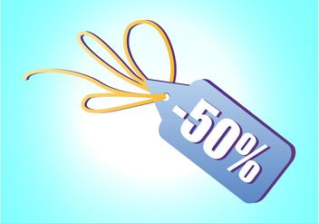 Discount Label - vector #150681 gratis