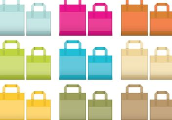 Reusable Bag Vectorss - Free vector #150701