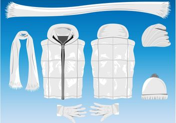 Winter Clothing - vector gratuit #150741