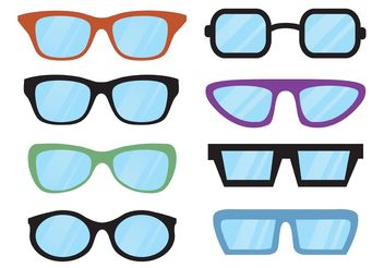 Free Vector Glasses - vector gratuit #150801