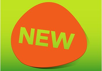 New Product Sticker - vector #150971 gratis