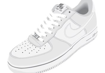 Nike Air Shoes Vector - vector gratuit #151201