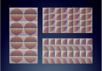 Optical Pattern Pack - Free vector #151381