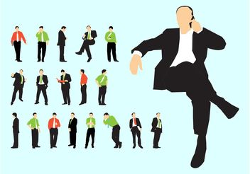 Businessmen Vector - vector #151561 gratis