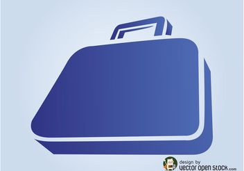 Business Briefcase Icon - Free vector #151771