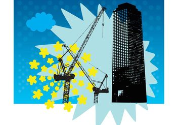 Skyscraper Building Vector - бесплатный vector #151801