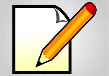 Writing Icon - vector #152071 gratis