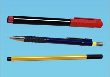 Writing Utensils - Free vector #152161