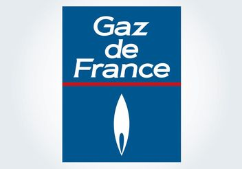 Gaz de France - vector gratuit #152391