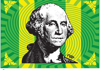 President Washington - vector gratuit #152441