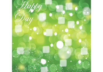 Green Celebration Graphics - vector gratuit #152761