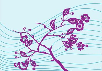 Flowers And Stripes - vector #152991 gratis
