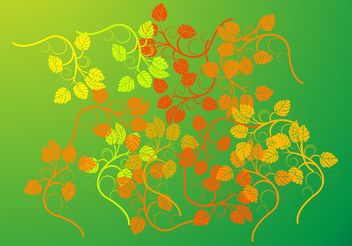 Leaves Vector - vector gratuit #153031
