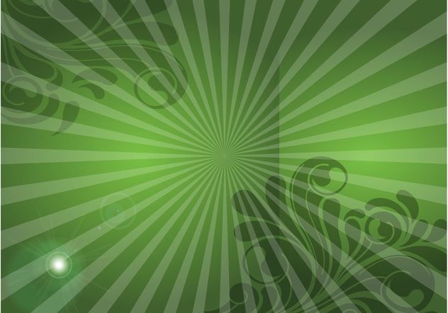 Green Swirls Image - vector gratuit #153141