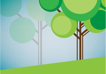 Vector Tree Graphics - vector #153241 gratis