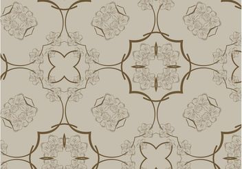 Flowers Pattern Graphics - Free vector #153321