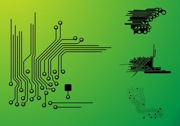 Circuits - vector #153741 gratis