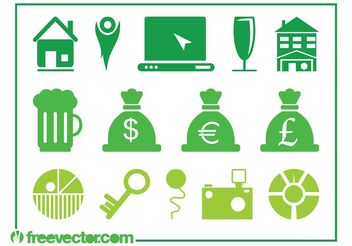 Icons Pack Vector - Free vector #153801