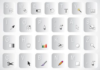 Keyboard Shortcuts - Kostenloses vector #153931