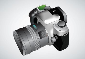 Digital Camera Vector - vector gratuit #154071