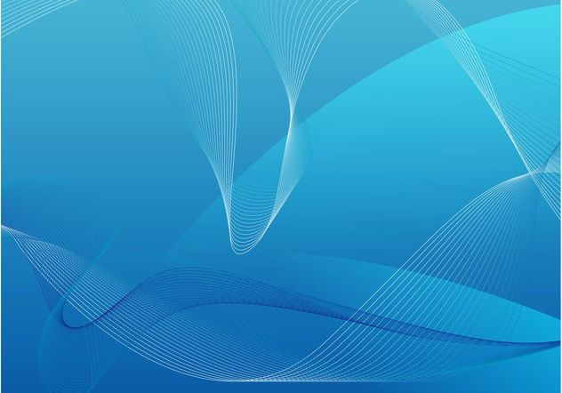 Blue Backdrop Vector - Free vector #154181