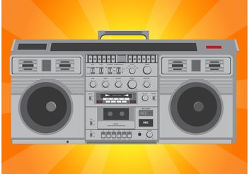 Hip Hop Radio - vector gratuit #154231