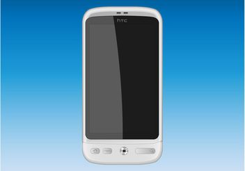 HTC Desire Phone - vector #154251 gratis