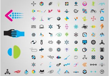 Logo Set - Free vector #154261