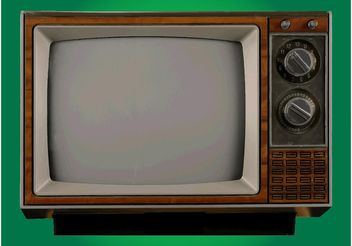 Old Television - Kostenloses vector #154371