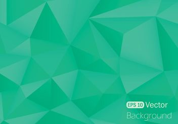 Free Polygonal Background Vector - Kostenloses vector #154411