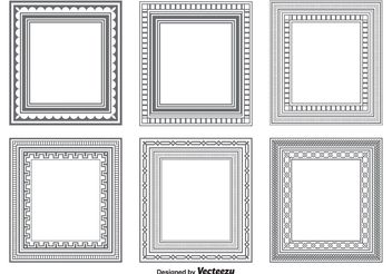 Vector Frame Shapes - vector gratuit #154771