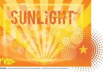 Sunlight Vector Background - vector gratuit #154791