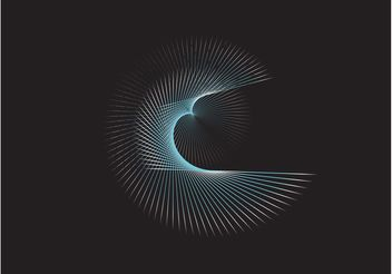 Vortex Lines Background - бесплатный vector #154951