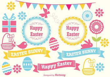 Spring Vector Elements - Free vector #155371