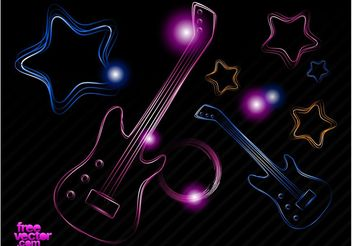 Neon Party - vector gratuit #155461