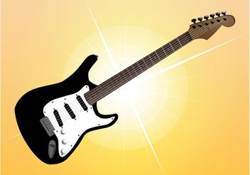 Fender Guitar - vector gratuit #155601