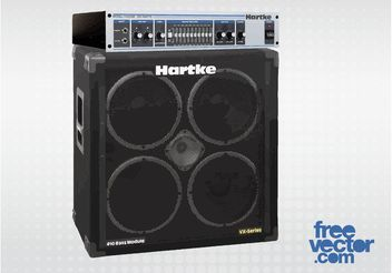 Guitar Amplifier - vector #155701 gratis