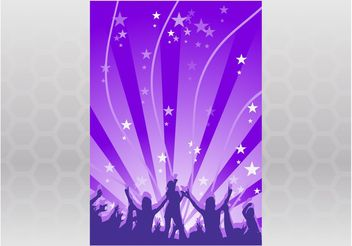 Disco Flyer - Free vector #155801