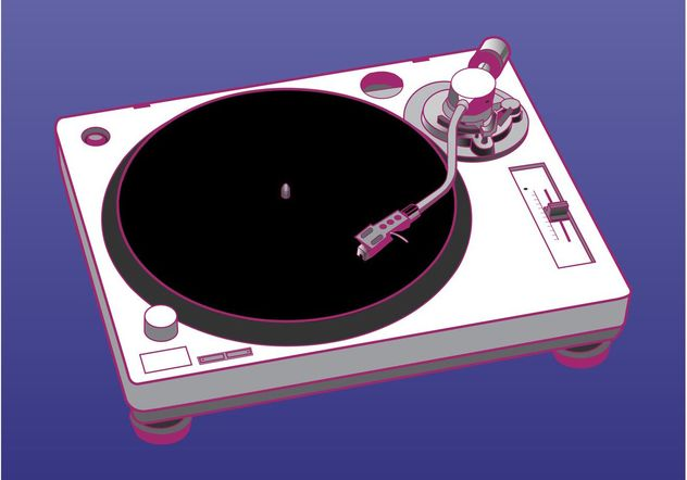 Turntable Vector Graphics - Free vector #155911