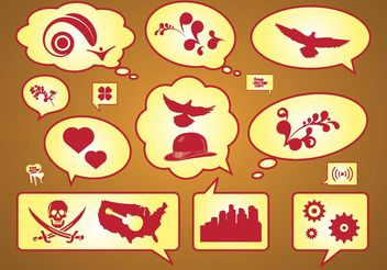 Free Vector Icons Set - vector gratuit #156191