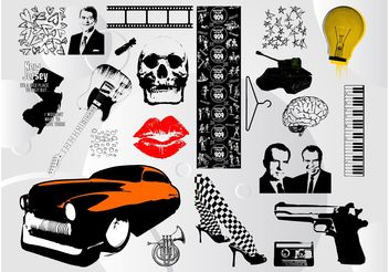 Cool Vector Images Pack - Free vector #156201