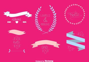 Hand Drawn Wedding Vector Graphics - Free vector #156921