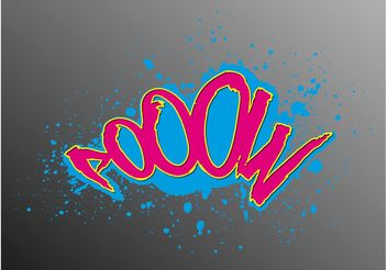 Colorful Graffiti - Free vector #157081