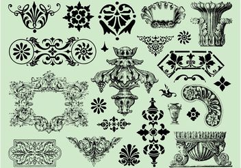 Antique Graphics - Free vector #157111