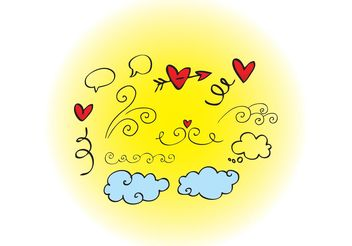 Love Graphics - Free vector #157311