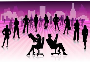 Working People - Free vector #157921