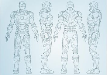 Vector Iron Man - vector #158101 gratis
